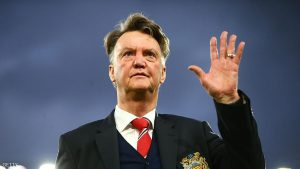 BOURNEMOUTH, ENGLAND - DECEMBER 12: Louis van Gaal Manager of Manchester United waves to supporters prior to the Barclays Premier League match between A.F.C. Bournemouth and Manchester United at Vitality Stadium on December 12, 2015 in Bournemouth, United Kingdom.  (Photo by Jordan Mansfield/Getty Images)