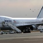 An Iran Air Boeing 747 passenger plane sits on the tarmac of the domestic Mehrabad airport in the Iranian capital Tehran on January 15, 2013. Austrian Airlines said the previous day that it has stopped its flights to Tehran because they were not profitable any more in a decision that comes after the subsidiary of German carrier Lufthansa had already in November cut the number of weekly flights from Vienna to the Iranian capital to three. AFP PHOTO/BEHROUZ MEHRI        (Photo credit should read BEHROUZ MEHRI/AFP/Getty Images)