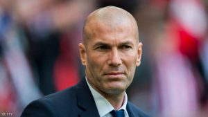 BILBAO, SPAIN - MARCH 18: Head coach Zinedine Zidane of Real Madrid looks on prior to the start the La Liga match between Athletic Club Bilbao and Real Madrid at San Mames Stadium on March 18, 2017 in Bilbao, Spain. (Photo by Juan Manuel Serrano Arce/Getty Images)