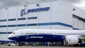 The new Boeing 787-10 Dreamliner taxis past the Final Assembly Building at Boeing South Carolina in North Charleston, South Carolina, United States, March 31, 2017. REUTERS/Randall Hill