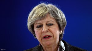 BRUSSELS, BELGIUM - MARCH 09: British Prime Minister Theresa May speaks during a press conference at the Council of the European Union, on the first day of an EU summit, on March 9, 2017 in Brussels, Belgium. EU leaders will gather for a two-day summit to discuss a number of issues including Great Britain's exit from the Union. (Photo by Carl Court/Getty Images)