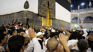 Muslim pilgrims circle counterclockwise Islam's holiest shrine, the Kaaba, at the Grand Mosque in the Saudi holy city of Mecca, late on September 21, 2015. The annual hajj pilgrimage begins on September 22, and more than a million faithful have already flocked to Saudi Arabia in preparation for what will for many be the highlight of their spiritual lives. AFP PHOTO / MOHAMMED AL-SHAIKH (Photo credit should read MOHAMMED AL-SHAIKH/AFP/Getty Images)