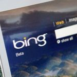 CHINA - JUNE 10:  Microsoft Corp.'s Bing search engine is displayed for a photograph in Hong Kong, China, on Wednesday, June 10, 2009. Microsoft Corp.'s effort to gain ground on Google Inc. with its new Bing search engine got a boost today from data showing an increase in its share of U.S. search results, according to ComScore Inc.  (Photo by Scott Eells/Bloomberg via Getty Images)