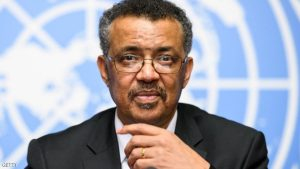 New World Health Organization (WHO) Director General Ethiopia's Tedros Adhanom Ghebreyesus holds a press conference on the day after his election by the World Health Assembly (WHA) on May 24, 2017 in Geneva. The first African to head the World Health Organization, Ethiopia's Tedros Adhanom, says he aims to replicate his success in turning around his country's healthcare system on the global stage. / AFP PHOTO / Fabrice COFFRINI        (Photo credit should read FABRICE COFFRINI/AFP/Getty Images)